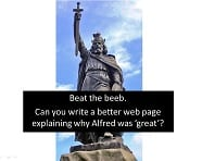 statue of Alfred